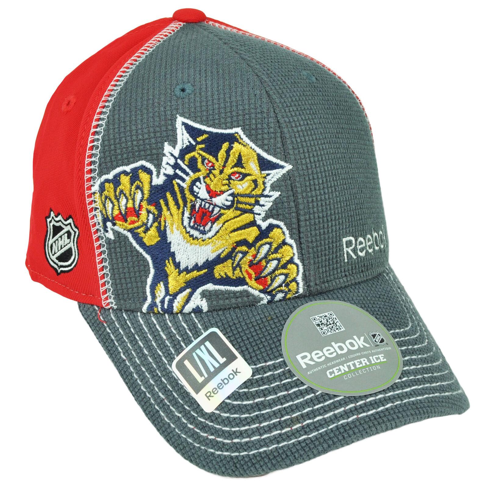 NHL Reebok Florida Panthers S M0711 Souple S Panthers M Extensible Chapeau Bonnet Rouge f97e7c