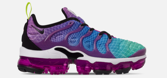 new styles e107a ebe09 Nike W Womens Air Vapormax Plus Purple Green Blue Black Hyper Violet AO4550  900