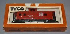 Vintage TYCO HO Scale T240 Santa FE Caboose 8 Wheel Train Car 7240 327j 350