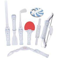 CTA Digital CTA Digital Wii Sports Resort 8-in-1 Sports Pack White Adapter/Case/Remote Control Video Game Accessories