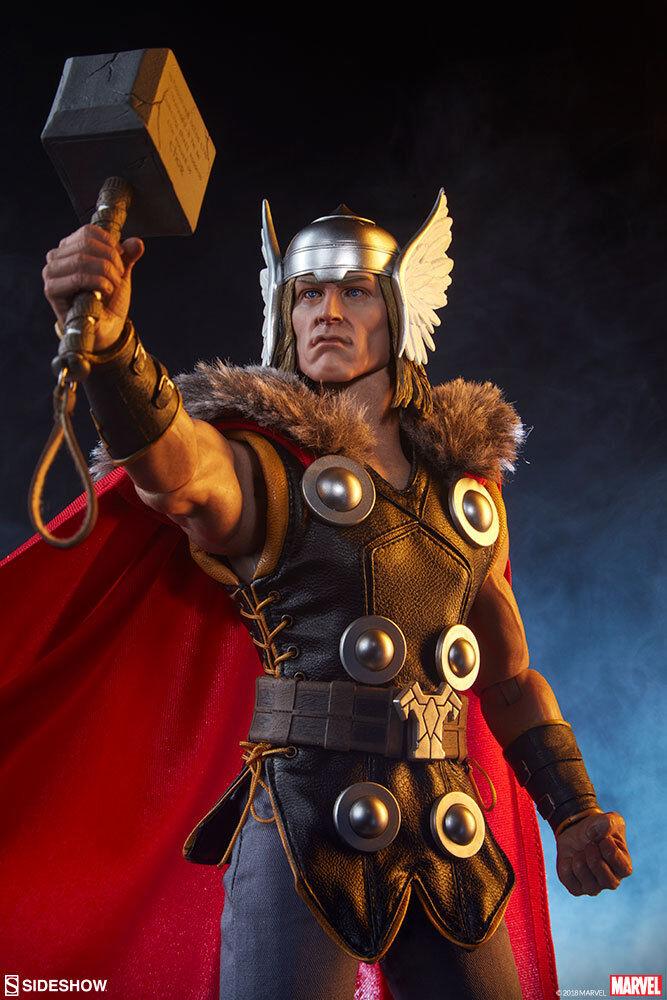 punto de venta Sideshow Marvel Comics Classic Thor 12  Figura De De De Acción Escala 1 6 De Los Vengadores  distribución global