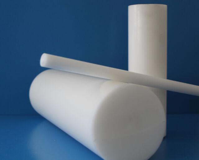 Rundstab D ø 60mm Rundmaterial schwarz weiß natur Kunststoff Stange 40 €//m POM