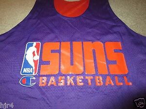 brand new e9c1c 3e765 Details about Phoenix Suns 94-95 NBA Champion Game Worn Used Basketball  Practice Jersey XL