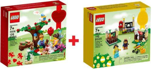 LEGO ® confezione doppia 40236 romantico Valentin PICNIC 40237 diari