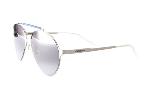 Carrera Sunglasses Carrera 124S 6LBHD Silver Blue Gradient Grey