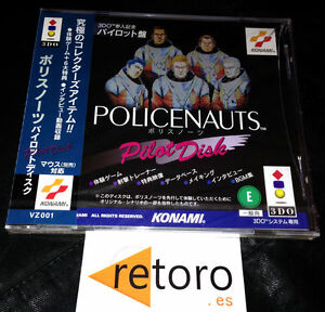 HIDEO-KOJIMA-POLICENAUTS-PILOT-DISK-DISC-Panasonic-3DO-Japones-NUEVO-Sealed-NEW
