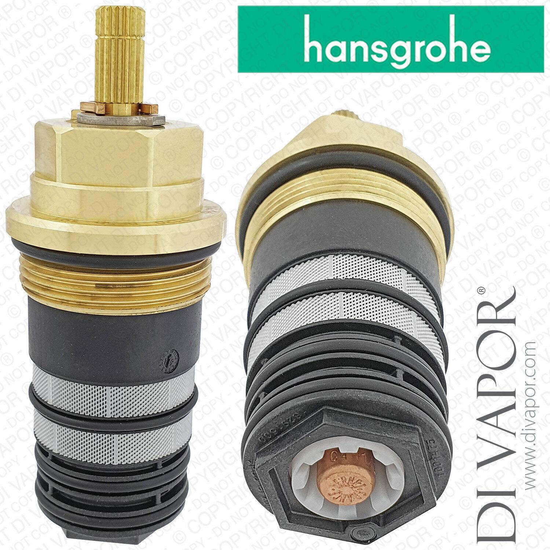 Hansgrohe 98282000 Thermostatique Cartouche pour Ecostat,Axor Verostat,Croma Et