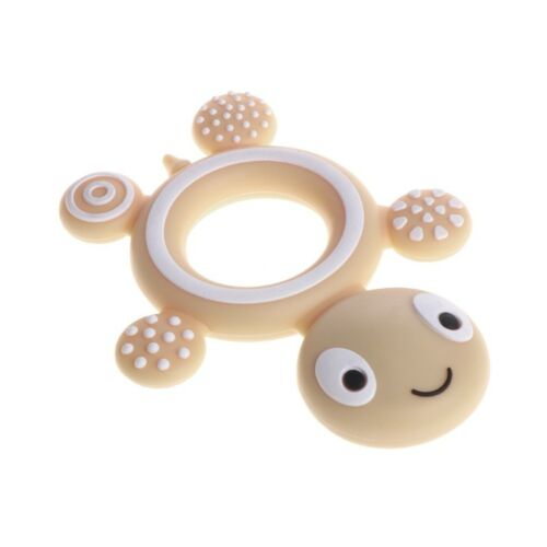 Silicone Baby Kids Tortoise Soother Teether Teething Pacifier Safety Food Grade