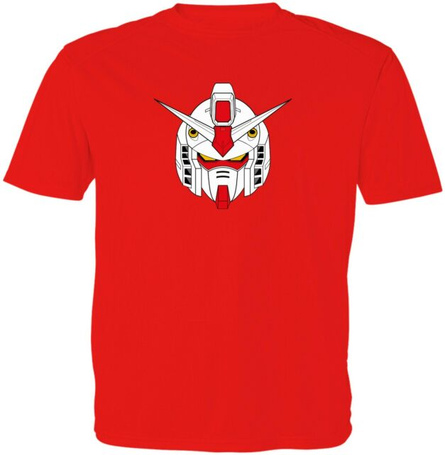 Gundam RX-0 Unicorn Red Kid Girl Boy Youth Unisex Crew Neck Short Sleeve T-Shirt