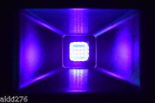 10W LED UV BLACK LIGHT NEON FLUORESCENT DJ PARTY FLOOD LIGHT