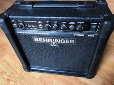 """Behringer V-Tone  GM108 True Analog  15 watts Guitar Amp with 8"""" Speaker, 230V"""