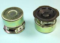 2pcs 2 Boston Acoustic Speaker, 4 Ohm Impedance, Shielded Magnet, 1.61 Depth