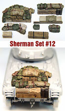 1/35 Scale Resin kit WW2 Sherman tank Engine Deck and Stowage Sets #12