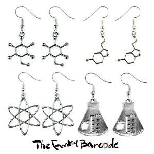 TFB-SCIENCE-LAB-DANGLE-EARRINGS-Chemistry-Funky-Geek-Symbol-Retro-Sign-Atom