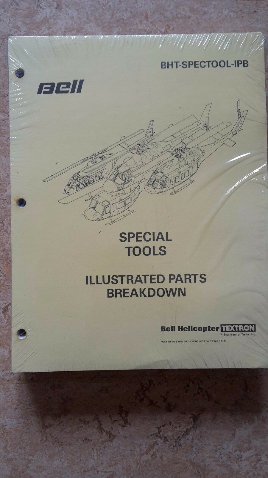 Miraculous Bell Tools Illustrated Parts Breakdown Textron Manual Helicopter Wiring Cloud Staixuggs Outletorg