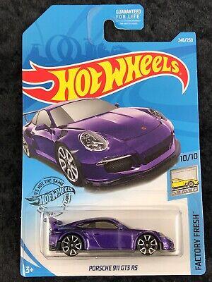 HOT WHEELS 2020 PORSCHE 911 GT3 RS HW EXOTICS NEU /& OVP
