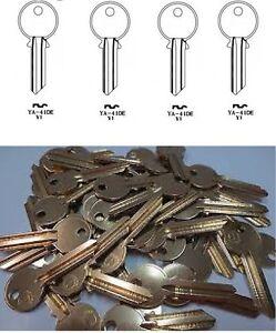 Copy-Yale-Cylinder-Lock-1A-YA1-YA1E-Key-Steel-Blanks-NICKEL-PLATED-UNCUT-HOUSE