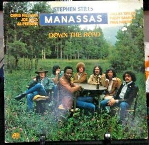 MANASSAS Down The Road Album Released 1973 Vinyl/Record Collection US pressed