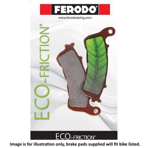 Vespa GTS 300 ie Super 2013 Ferodo ECO Friction Rear Brake Pads