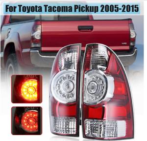 Toyota-Tacoma-Coche-Izquierdo-Derecho-Luz-Trasera-Freno-Luz-2005-2015