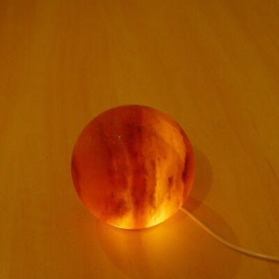 Globe E Palla Sale Grosso Lampada Usb Rosa Dell'himalaya Cristallo Terapeutico Qualità Aaa-