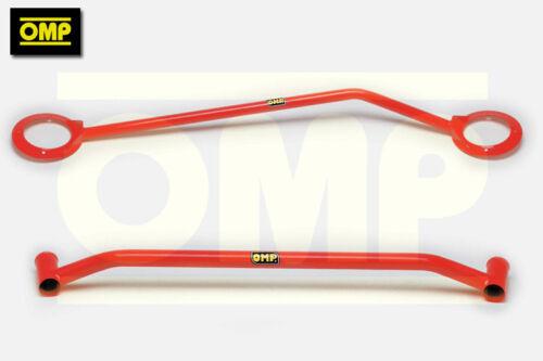 OMP UPPER /& LOWER STRUT BRACE FORD FIESTA MK4 ZETEC