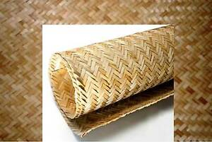 Bamboo Weave Matting Roll 4 X 8 Wallpaper Wainscoting