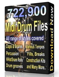 722-900-Drum-Midi-Pack-Collection-2020-Ableton-Cubase-Logic-FL-Studio-Reason