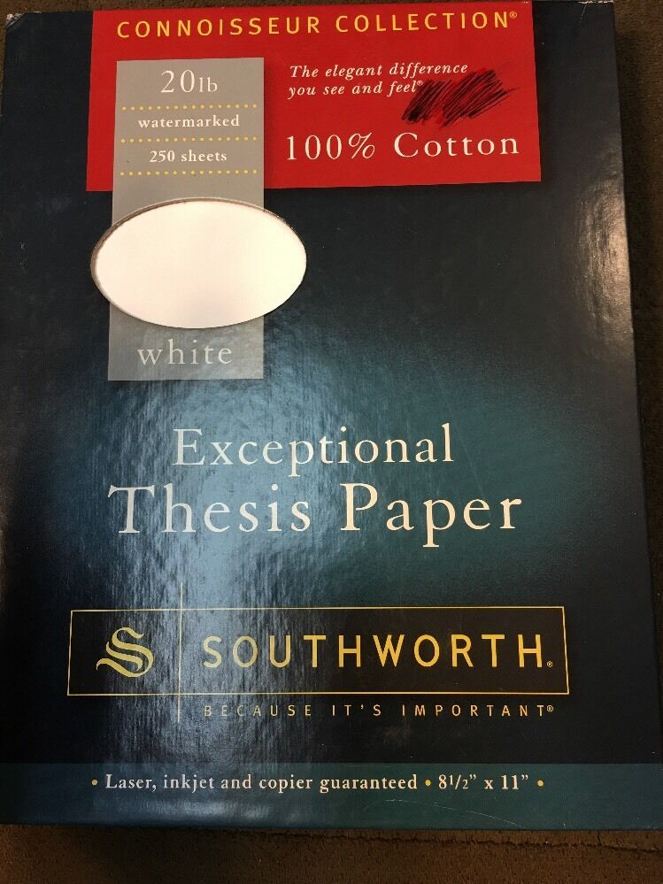 southworth exceptional thesis paper 100 cotton