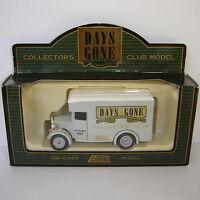 Lledo: Days Gone: 1934 Dennis Parcels Van: COLLECTORS CLUB AUTUMN 1994: DG16038a