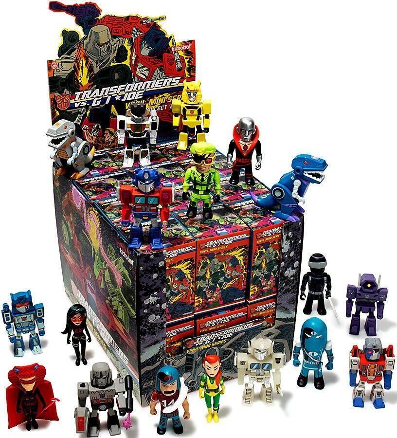 Transformers & Gi Joe Vinyle Mini Série Mystery Mini Blind Box
