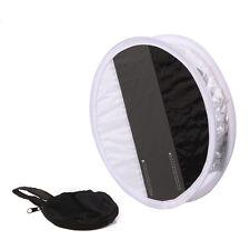 30cm 18% Gray Card White Balance Board Round Speedlight Flash Diffuser Softbox