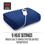 thumbnail 6 - Electric Heated Throw Blanket Indoor Outdoor Winter Plush Washable Rug 200x180cm