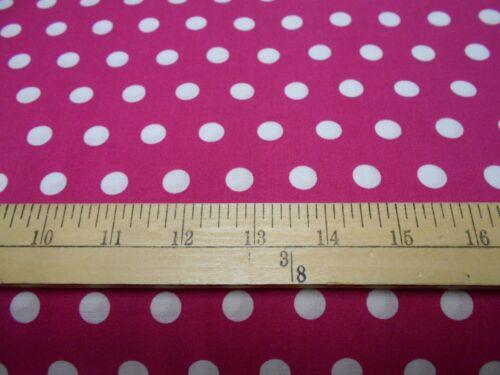 1 yard Little Dot Flamingo Fabric
