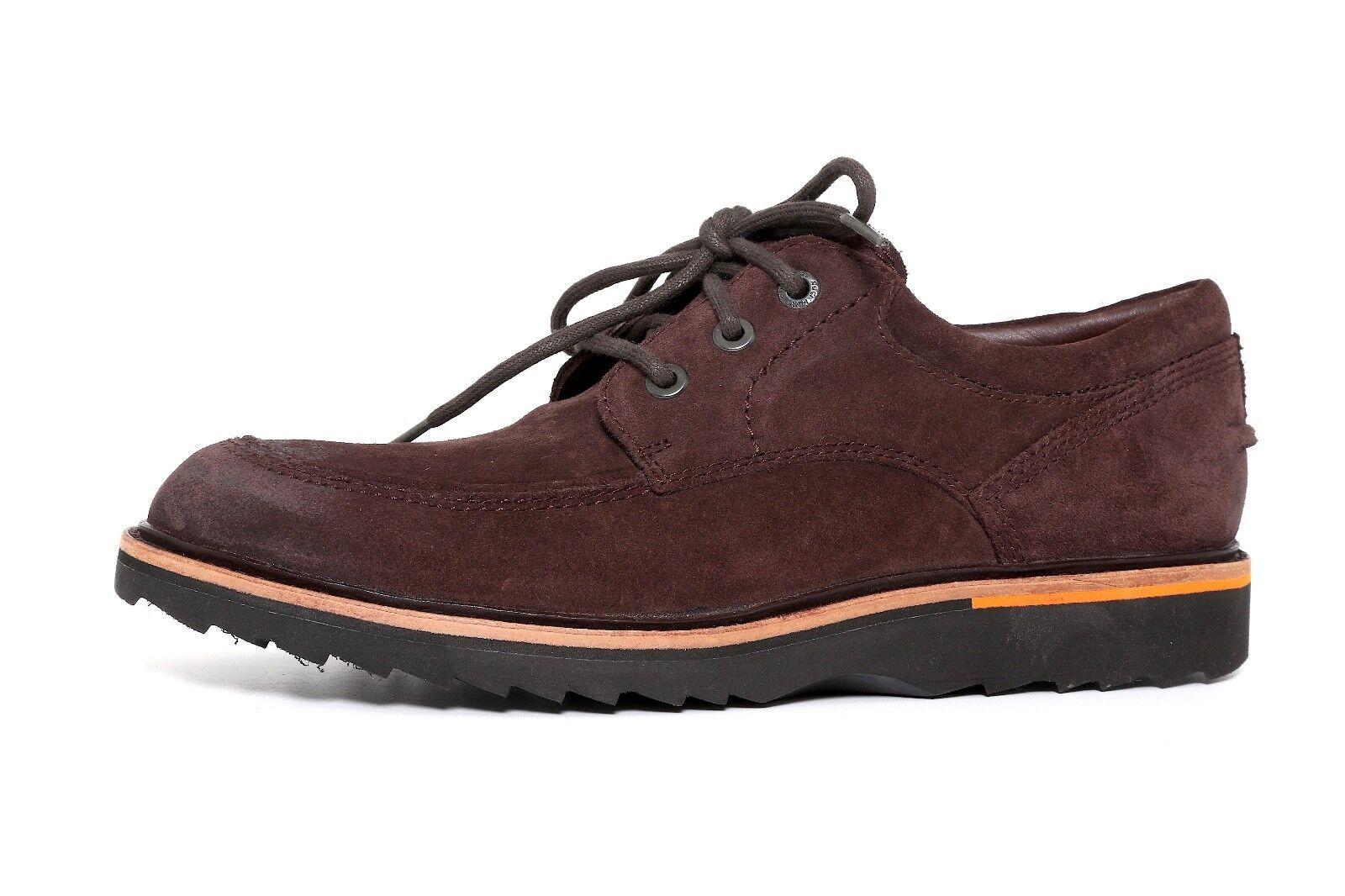 Rockport US Marrón Gamuza Hombre Zapatos De Cordones M US Rockport 3312 1f56de