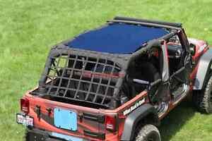 Image Is Loading Sun Shade Screen Teddy Top Jeep Wrangler JK