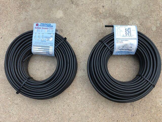 Raindrip 016010T 1//4-Inch by 100-Feet Black Tubing