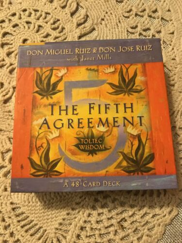 The Fifth Agreement By Don Jose Ruiz And Don Miguel Ruiz 2011