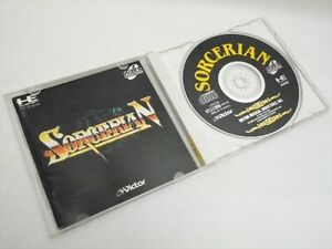 SORCERIAN-Item-REF-ccc-PC-Engine-SCD-PCE-Grafx-Victor-Japan-Game-pe