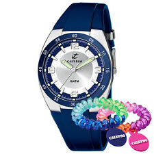 Reloj Calypso de hombre azul plata Análogo Colección UK6044/5