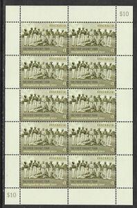 AUSTRALIA-2018-FIRST-CRICKET-TOUR-TO-ENGLAND-1868-ABORIGINAL-XI-Sheet-of-10-MNH