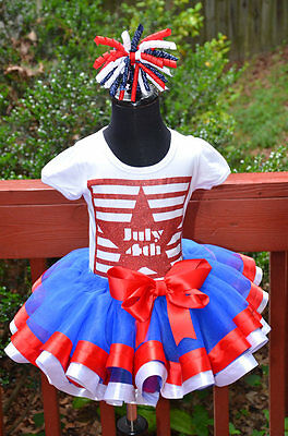 Christmas Candy Cane Cutie ribbon and lace trim tutu outfit dress set 6m 4T