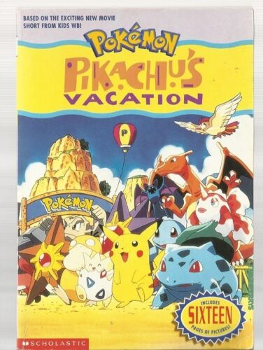 1 of 1 - Pokemon - Pikachu's Vacation by Tracey West (Paperback,1999) incl Movie pictures