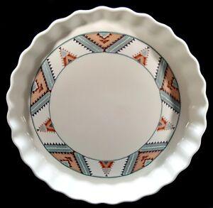 Mikasa-Intaglio-Santa-Fe-Quiche-Tart-Pan-Dish-Southwest-CAC24-More-Pieces-Avail