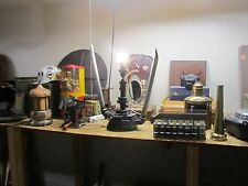 Industrial Desk Lamp Engine Machine Gear Steampunk Rat Rod Vintage Parts Light