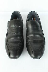 Mocassins Zara cuir noir T 42 / UK 8 TRES BON ETAT