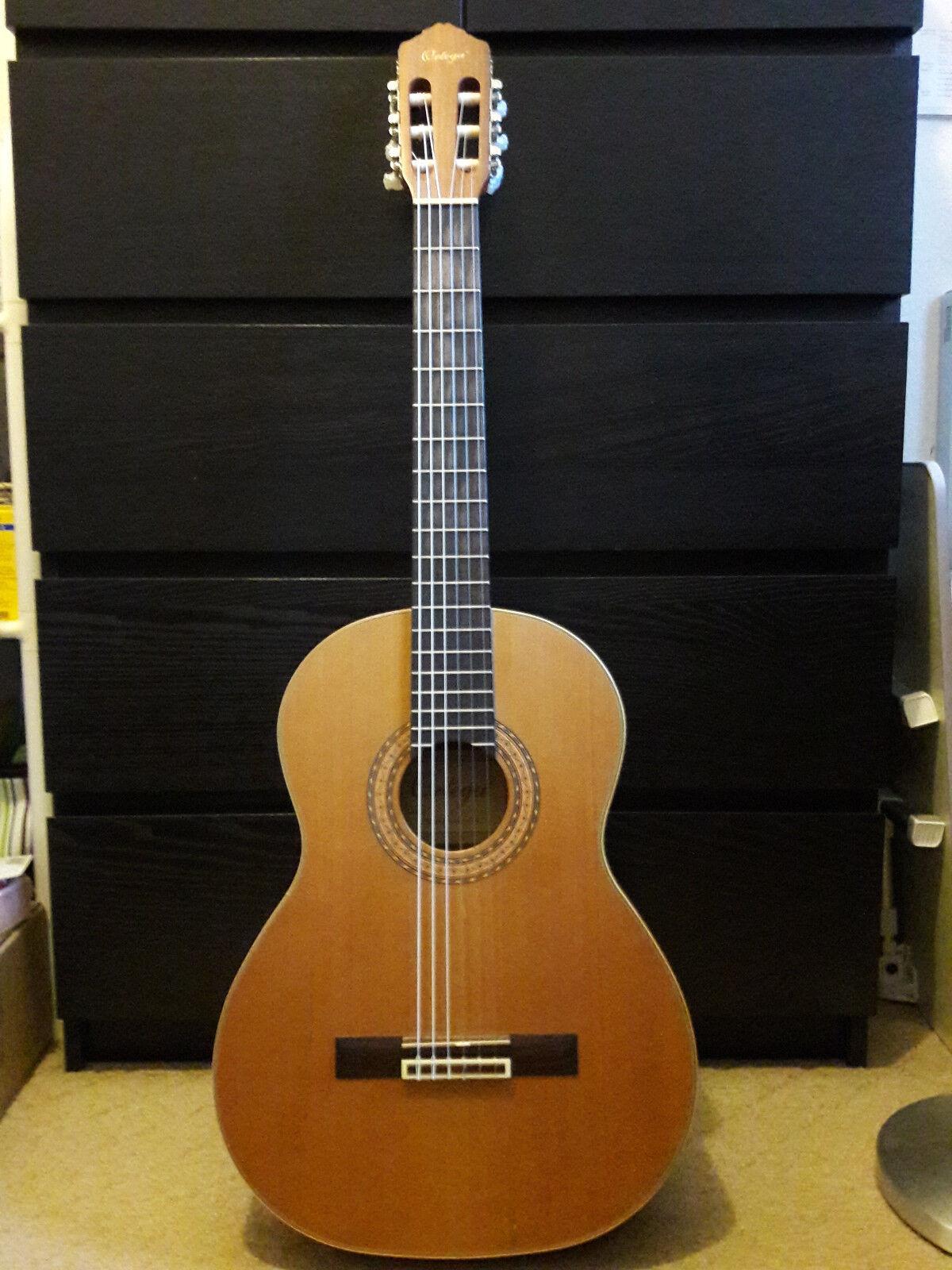 Gitarre, Ortega R130, gebraucht, guter Zustand, neue Saiten, gereinigt
