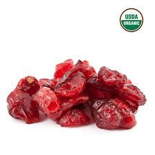SweetGourmet Organic Dried Cranberries, 2Lb FREE SHIPPING!
