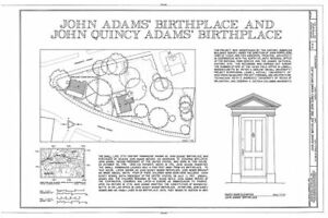 Colonial saltbox house architectural blueprint birthplace of a image is loading colonial saltbox house architectural blueprint birthplace of a malvernweather Gallery