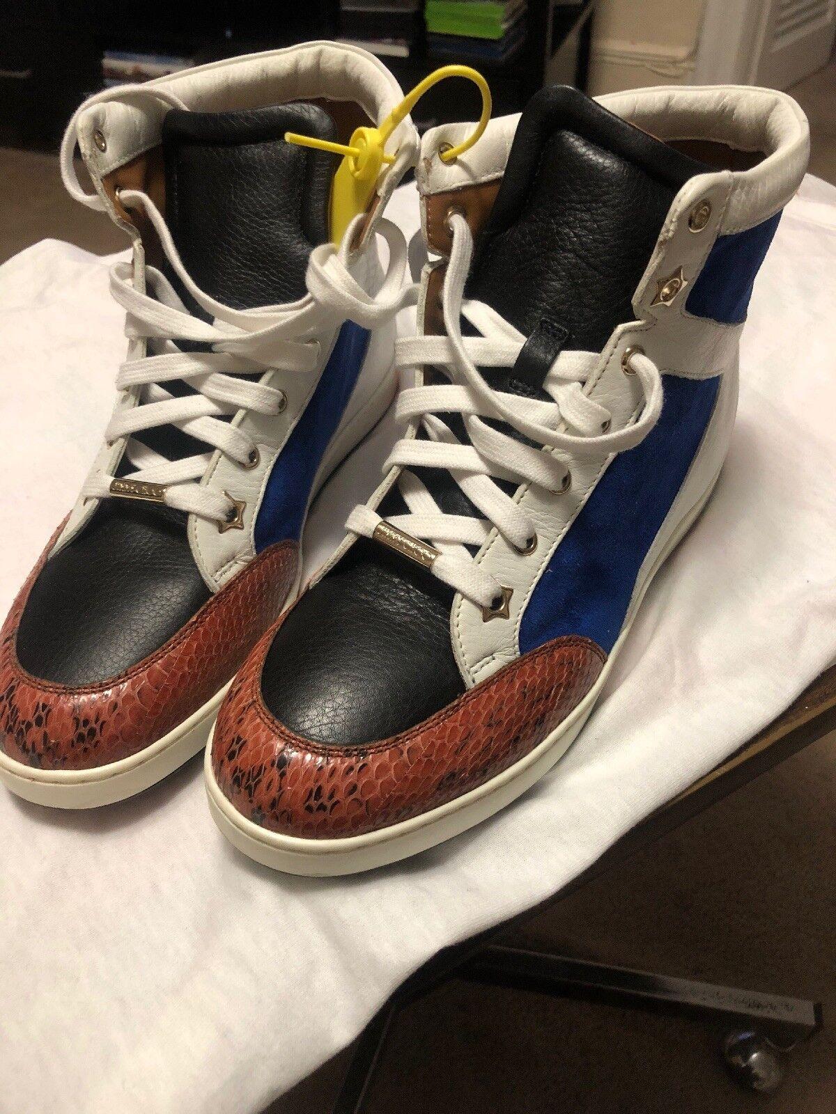 nuevo  Jimmy Choo Señoras Zapatillas. EE. UU. 38EU